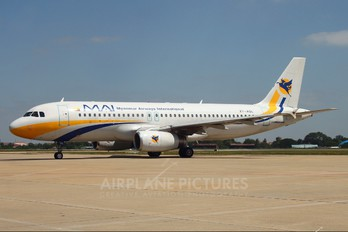 XY-AGL - Myanmar Airways International Airbus A320