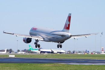 HB-IJW - Swiss Airbus A320