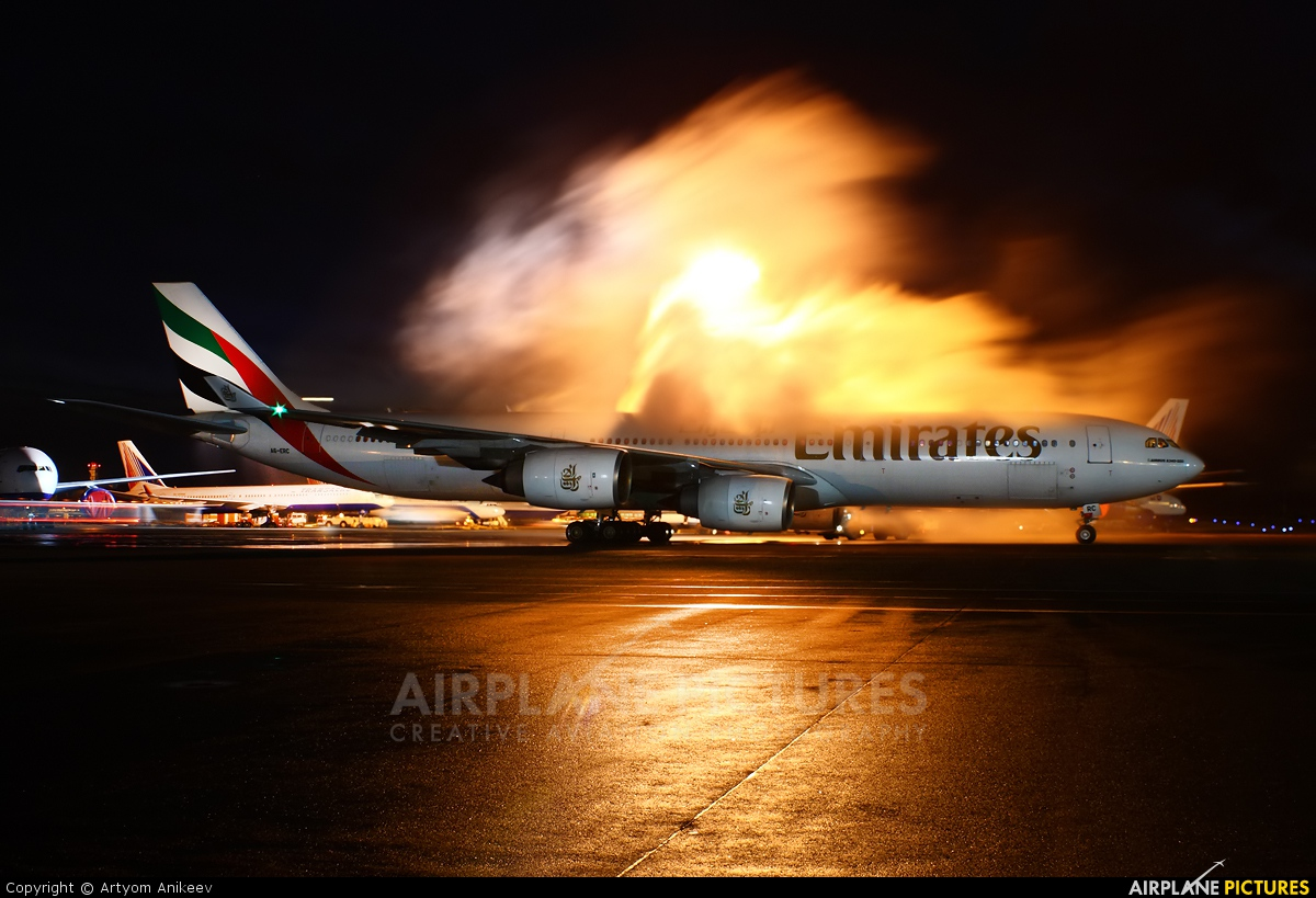 Emirates Airlines A6-ERC aircraft at Moscow - Domodedovo