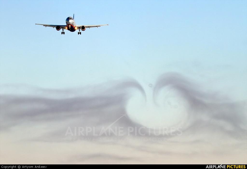 Aeroflot VP-BWE aircraft at Moscow - Sheremetyevo
