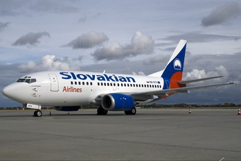 OM-BTS - Slovakian Airlines Boeing 737-500