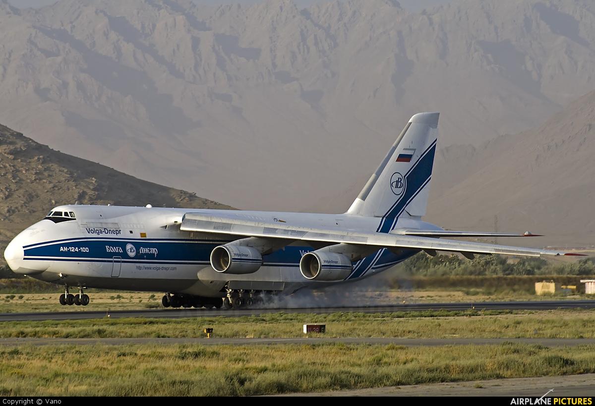 Volga Dnepr Airlines RA-82044 aircraft at Kabul