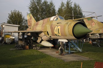40 - Russia - Air Force Mikoyan-Gurevich MiG-21bis