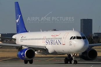 YK-AKF - Syrian Air Airbus A320