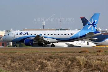 XA-MTO - Interjet Airbus A320