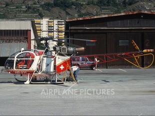 HB-XVL - Air Glaciers Sud Aviation SA-315 Lama