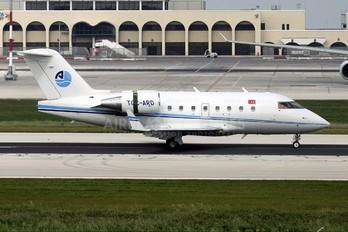 TC-ARD - ArkasAir Canadair CL-600 Challenger 604
