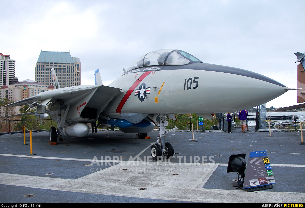 USA - Navy 158978 aircraft at San Diego - USS Midway Museum