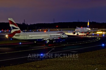G-EUPF - British Airways Airbus A319