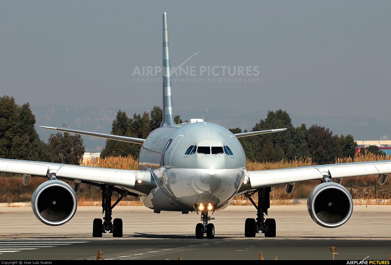 Qatar Airways A7-ACK aircraft at Barcelona - El Prat