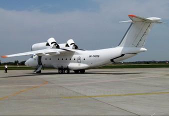 UR-74026 - Private Antonov An-74