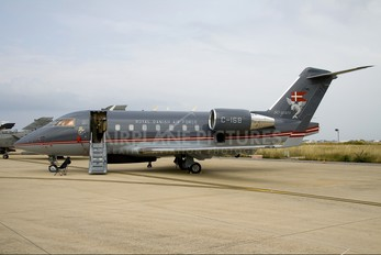 C-168 - Denmark - Air Force Canadair CL-600 Challenger 604