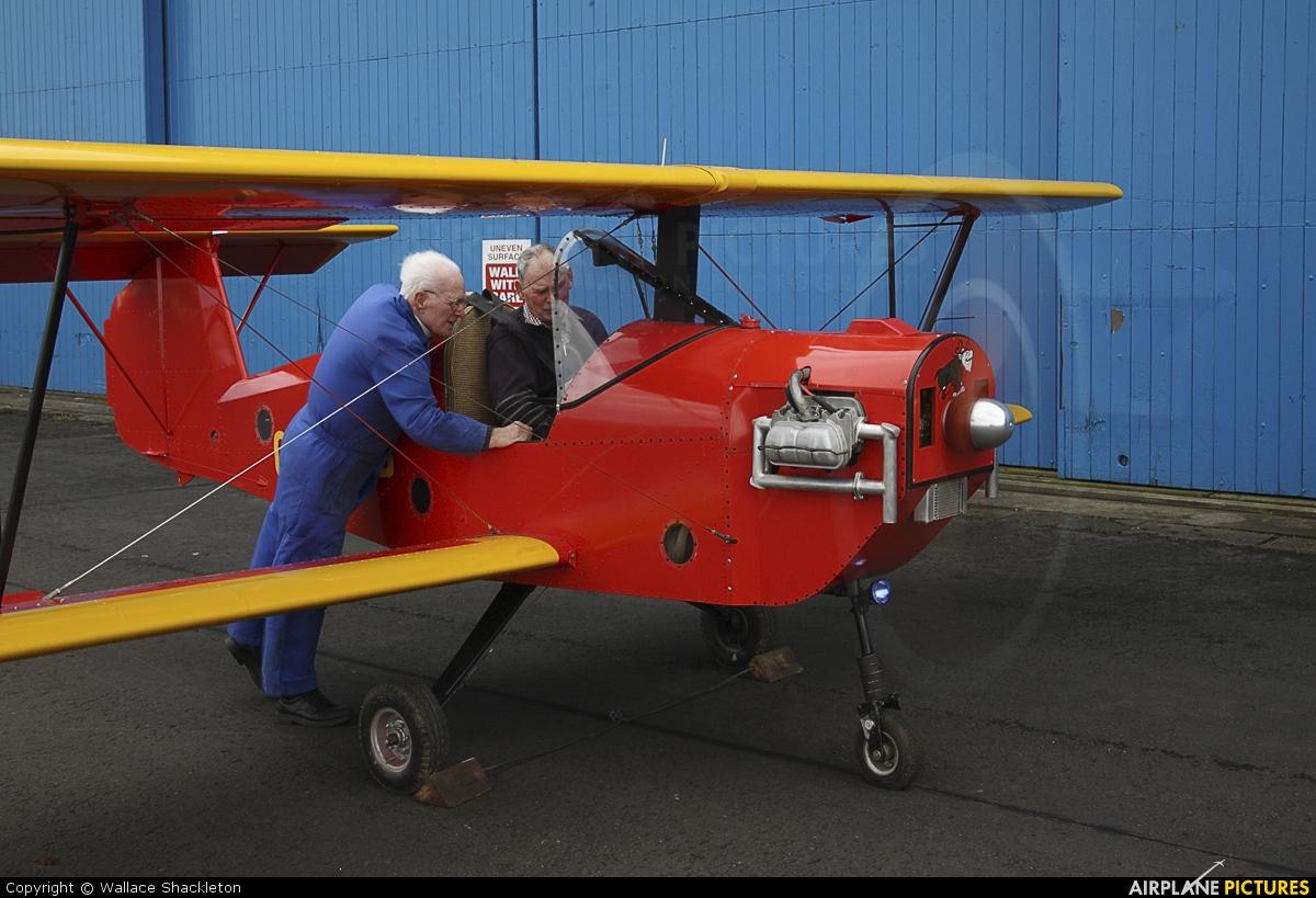 Private G-DAVB aircraft at Perth - Scone