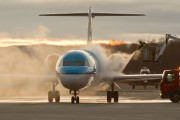 PH-KZF - KLM Cityhopper Fokker 70 aircraft