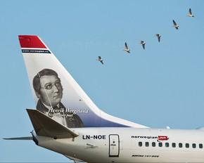 LN-NOE - Norwegian Air Shuttle Boeing 737-800