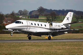 LX-INS - Luxaviation Cessna 560XL Citation XLS