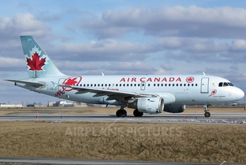 C-GBHZ - Air Canada Airbus A319