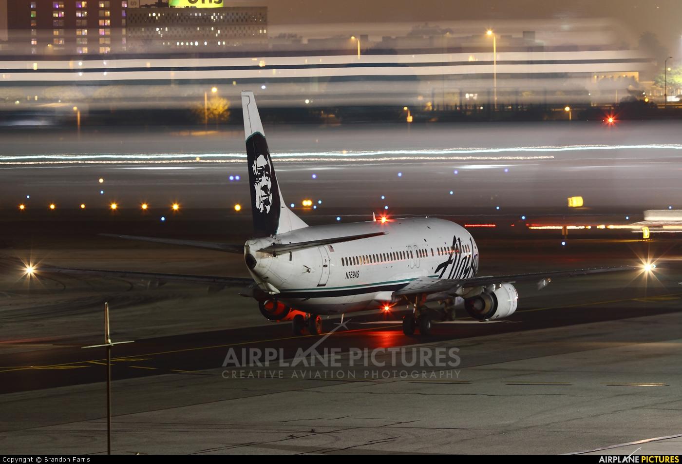 Alaska Airlines N769AS aircraft at Los Angeles Intl