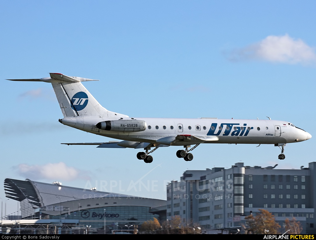 UTair RA-65828 aircraft at Moscow - Vnukovo
