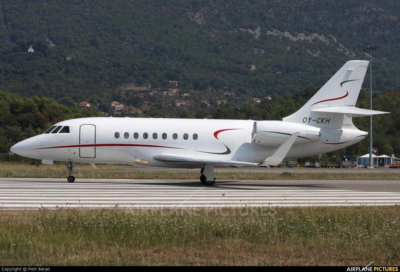 Air Alsie OY-CKH aircraft at Tivat