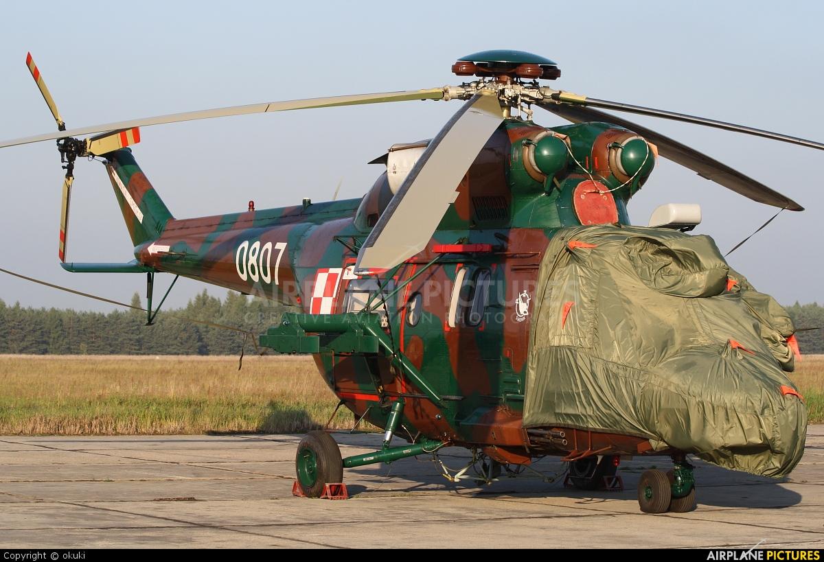 Poland - Army 0807 aircraft at Tomaszów Mazowiecki