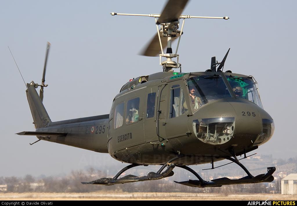 Italy - Army MM80547 aircraft at Verona - Boscomantico