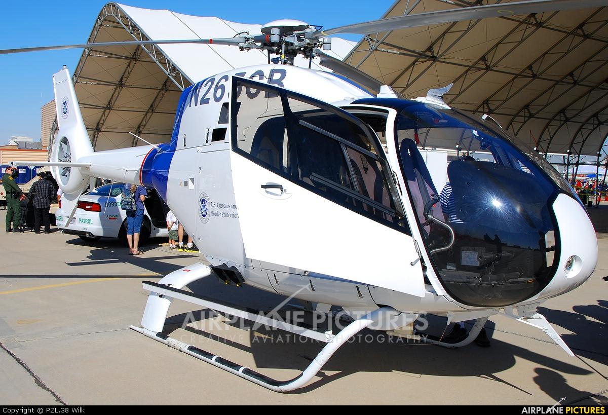USA - Dept. of Homeland Security N265CB aircraft at El Centro NAS