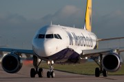 G-OZBK - Monarch Airlines Airbus A320 aircraft