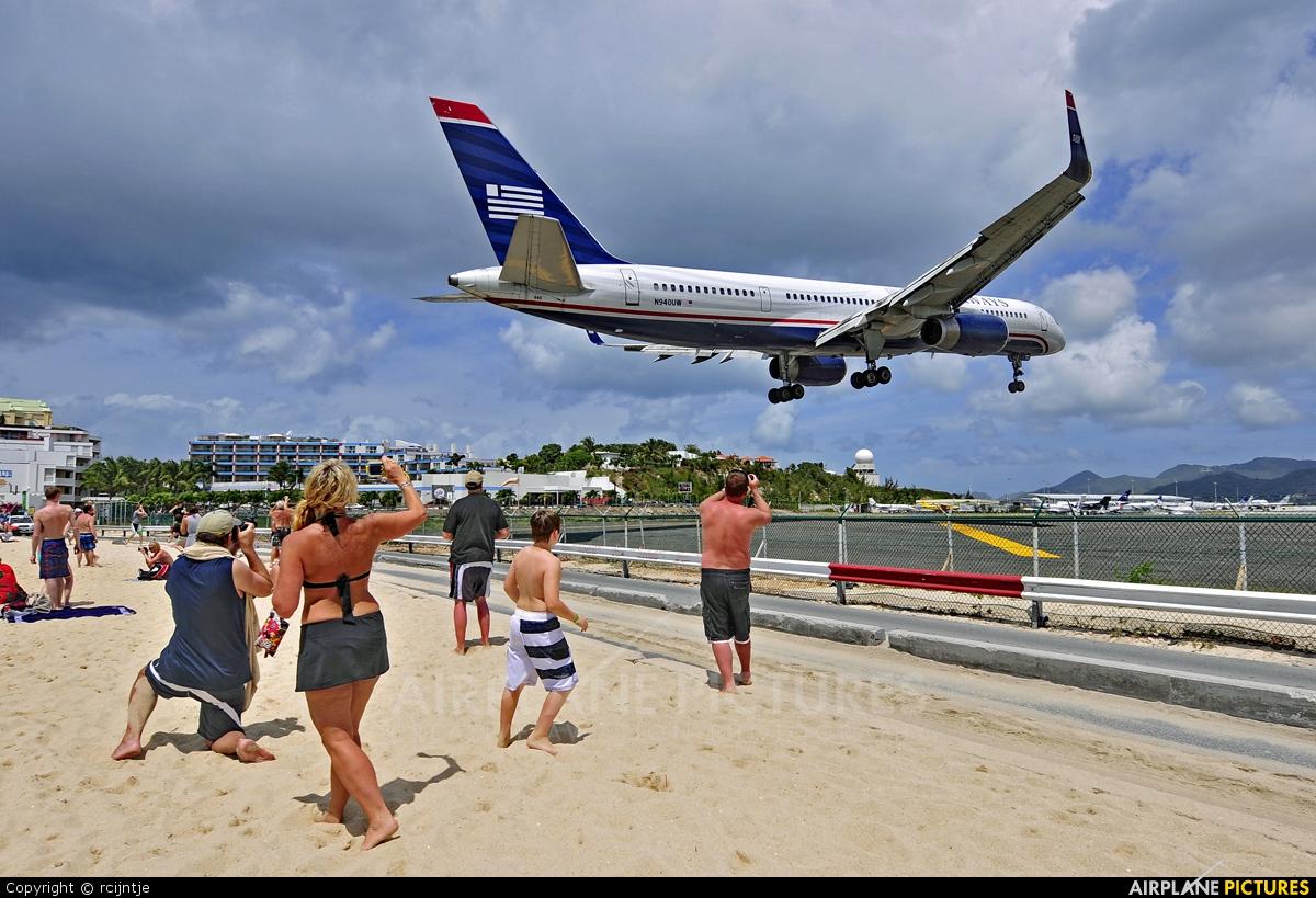 US Airways N940UW aircraft at Sint Maarten - Princess Juliana Intl