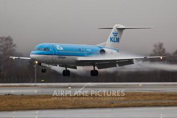 PH-KZP - KLM Cityhopper Fokker 70