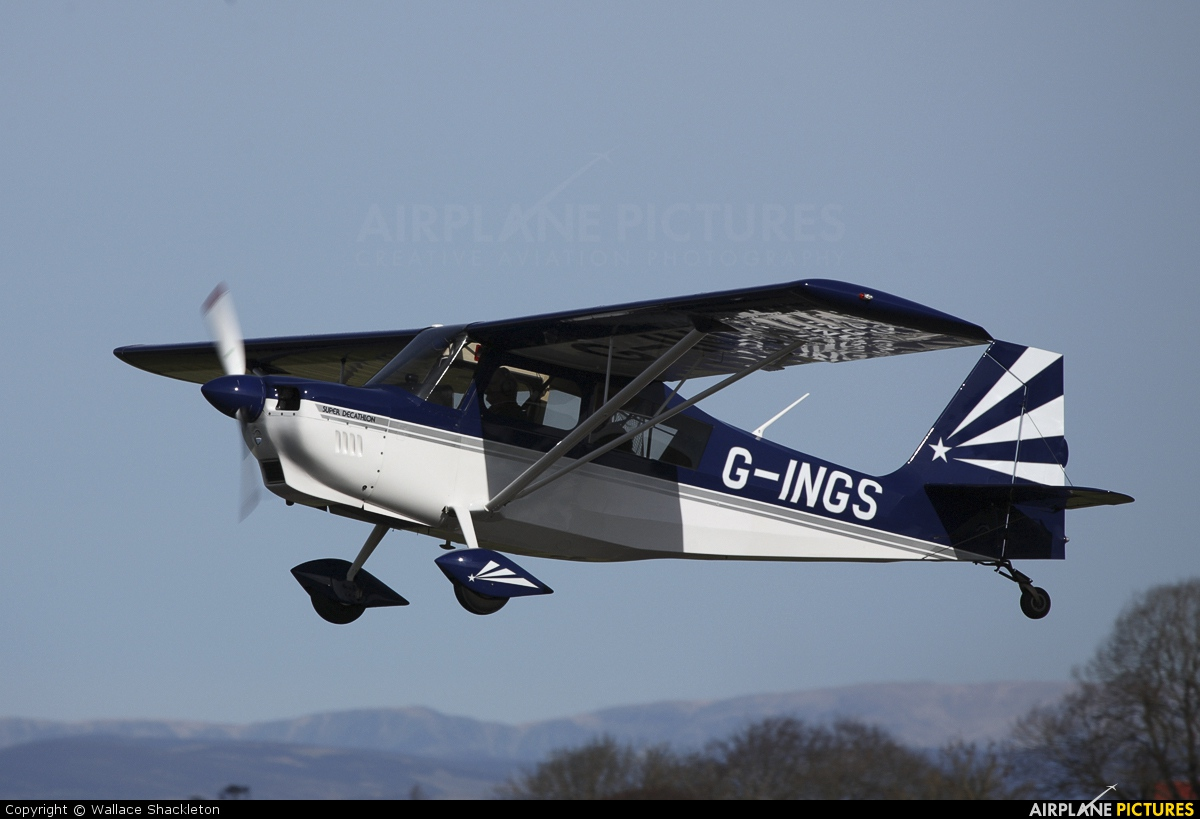 Private G-INGS aircraft at Perth - Scone