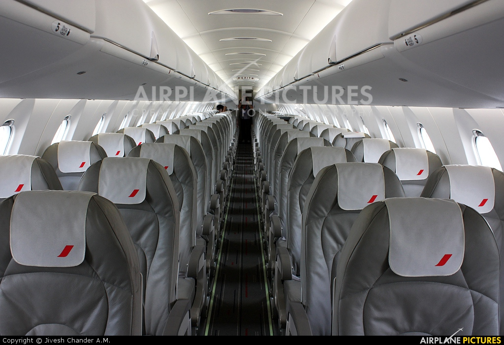 F hmll air france brit air canadair cl 600 crj 1000 at for Interieur d avion air france