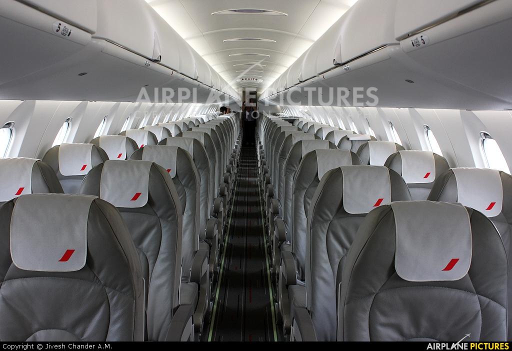 F hmll air france brit air canadair cl 600 crj 1000 at for Interieur d avion air france