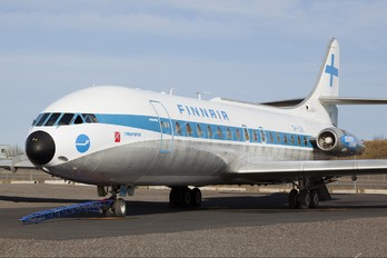 OH-LSB - Finnair Sud Aviation SE-210 Caravelle
