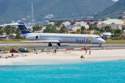PJ-MDE - Insel Air McDonnell Douglas MD-82 aircraft