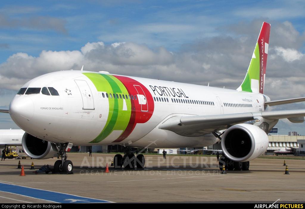 TAP Portugal CS-TOO aircraft at Brasília - Presidente Juscelino Kubitschek Intl