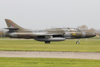 XF995 - Royal Navy Hawker Hunter T.8