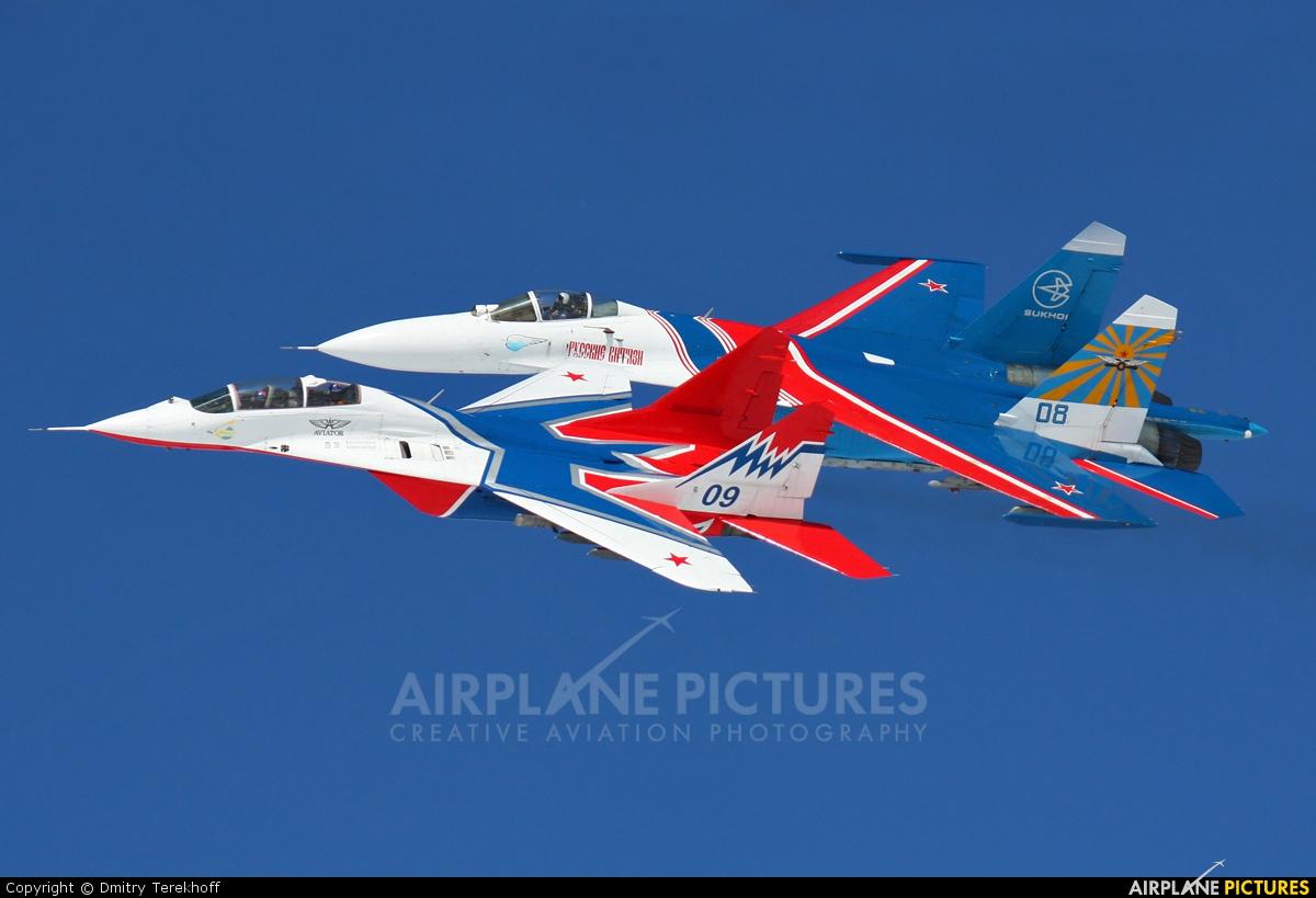 """Russia - Air Force """"Strizhi"""" 09 aircraft at Kubinka"""