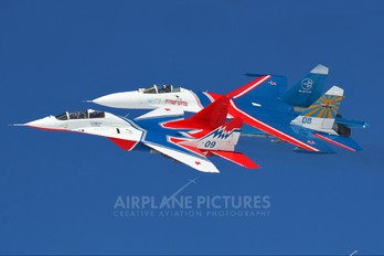 "09 - Russia - Air Force ""Strizhi"" Mikoyan-Gurevich MiG-29UB"
