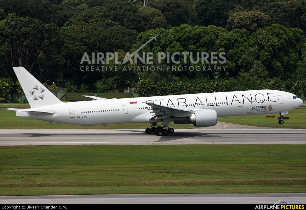 Singapore Airlines 9V-SWI aircraft at Singapore - Changi
