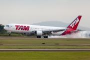 PT-MSU - TAM Boeing 767-300ER aircraft