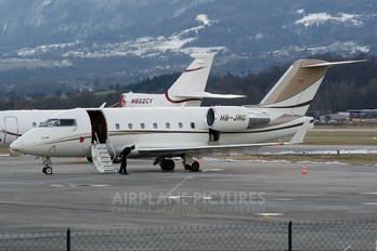 HB-JRG - Private Canadair CL-600 Challenger 604