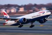 G-VIIY - British Airways Boeing 777-200 aircraft