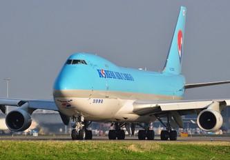 HL7603 - Korean Air Cargo Boeing 747-400F, ERF