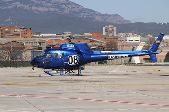 EC-JEA - Spain - Catalunya - Dept. of Interior Aerospatiale AS350 Ecureuil / Squirrel