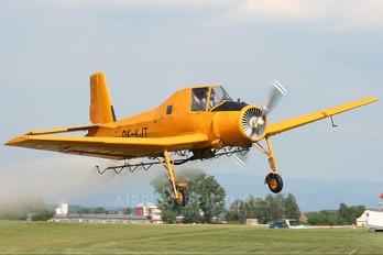 OK-KJT - Agroair Zlín Aircraft Z-37A Čmelák