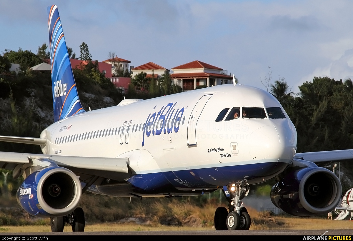 JetBlue Airways N639JB aircraft at Sint Maarten - Princess Juliana Intl