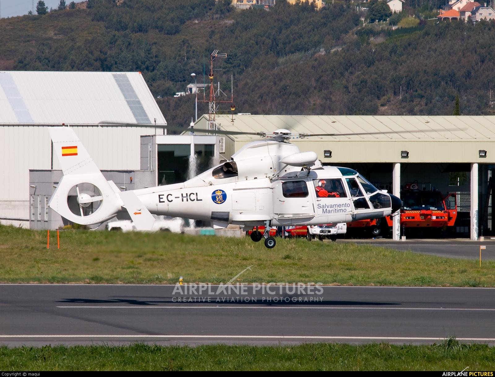 INAER EC-HCL aircraft at La Coruña