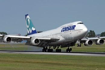 F-GSKY - Corsair / Corsair Intl Boeing 747-300