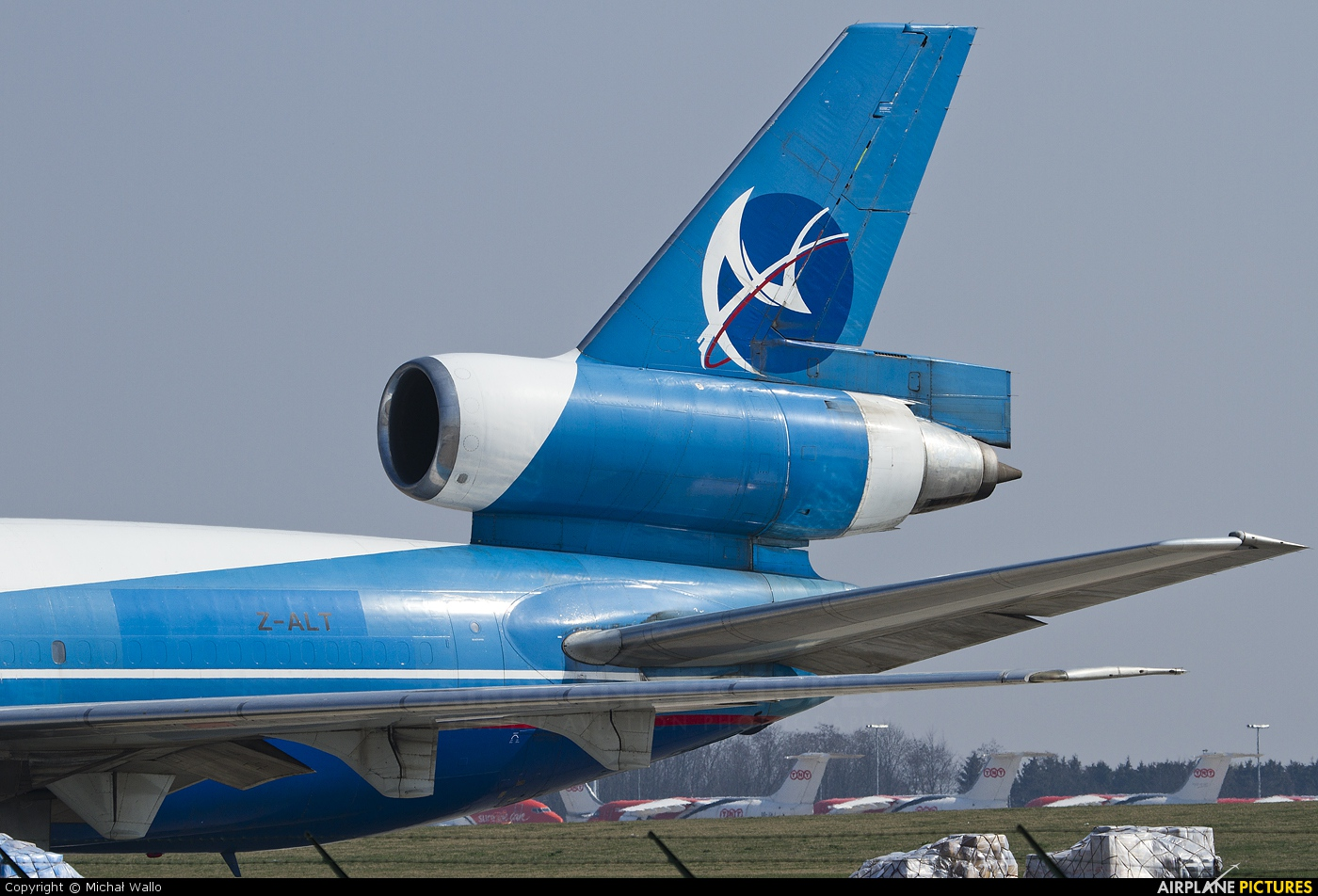 Avient Z-ALT aircraft at Liège-Bierset